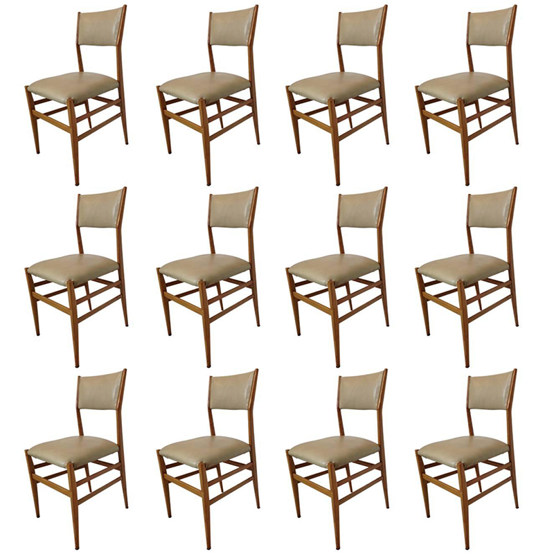 Gio-ponti-12-chairs-galleria-michela-cattai