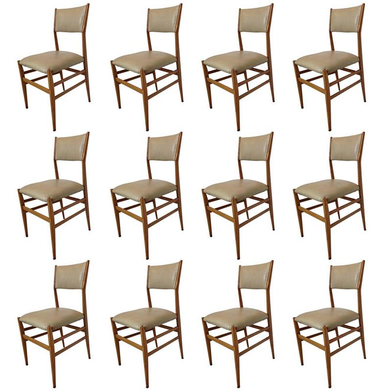 Gio-ponti-12-chairs-galleria-michela-cattai